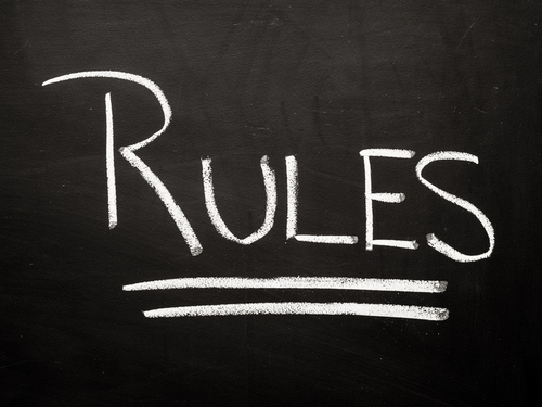 Gaming authority rules