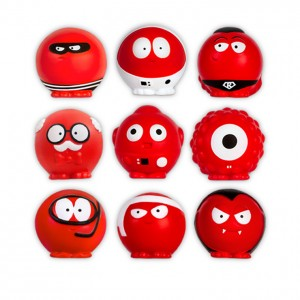 The 2015 red nose day noses