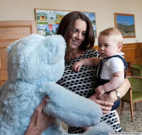 Kate looks after Prince George