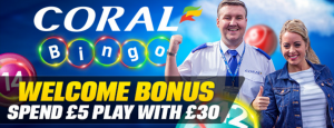 £10,000 Free Bingo for Newbies with Coral Bingo
