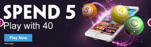Play for free at Paddy Power Bingo for limited time only