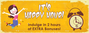 Indulge in two hours of extra bonuses with Champagne Bingo
