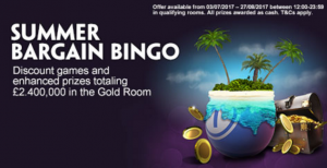 Win A Share Of £2.4 Million At Paddy Power Bingo This Summer